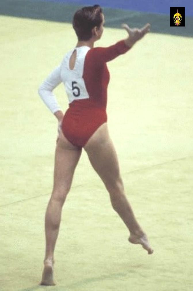 Nation of XI's Pantheon! Svetlana Khorkina!