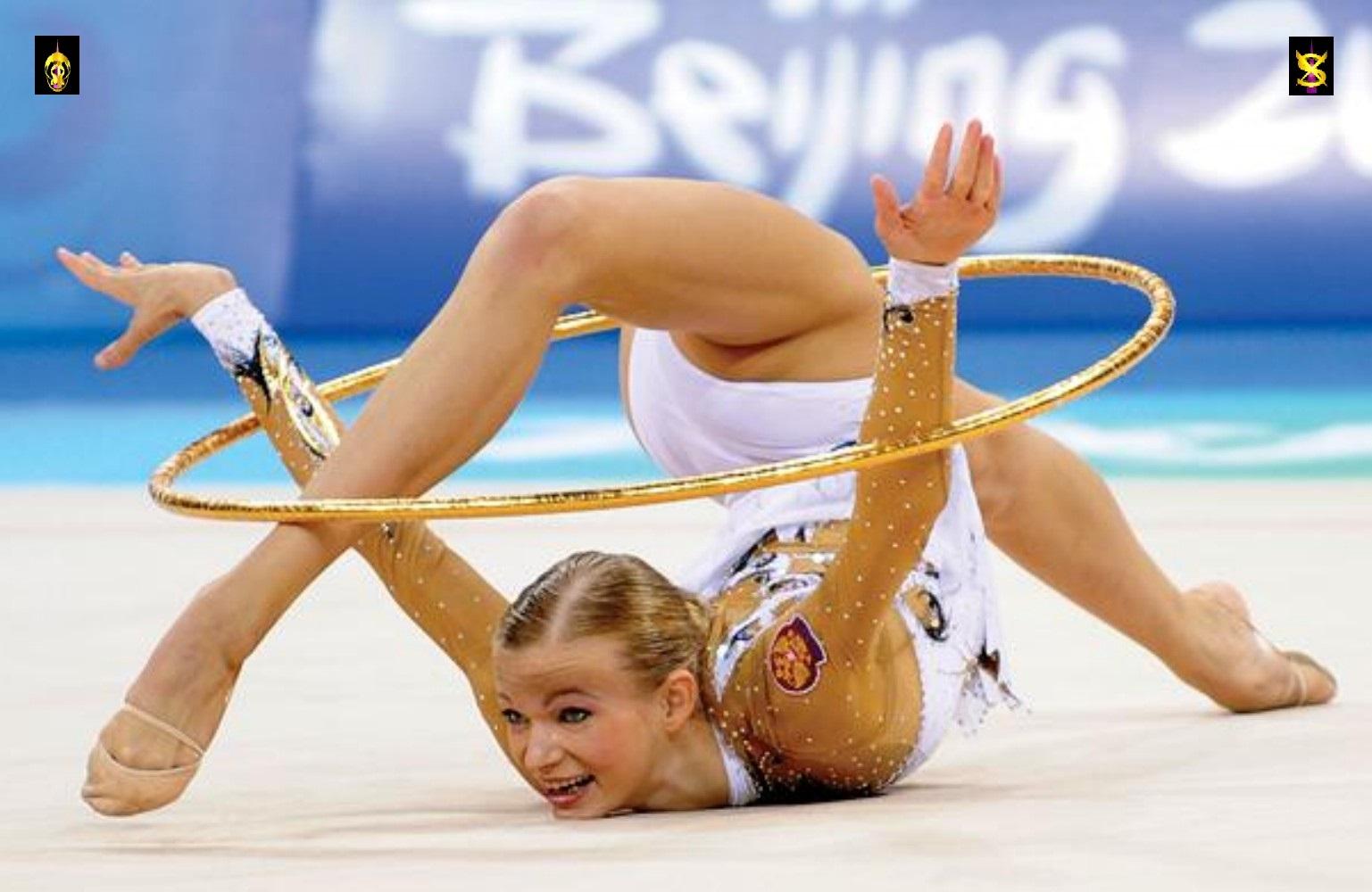 Фото спортсменок художественной гимнастики крупным планом 10 фотография