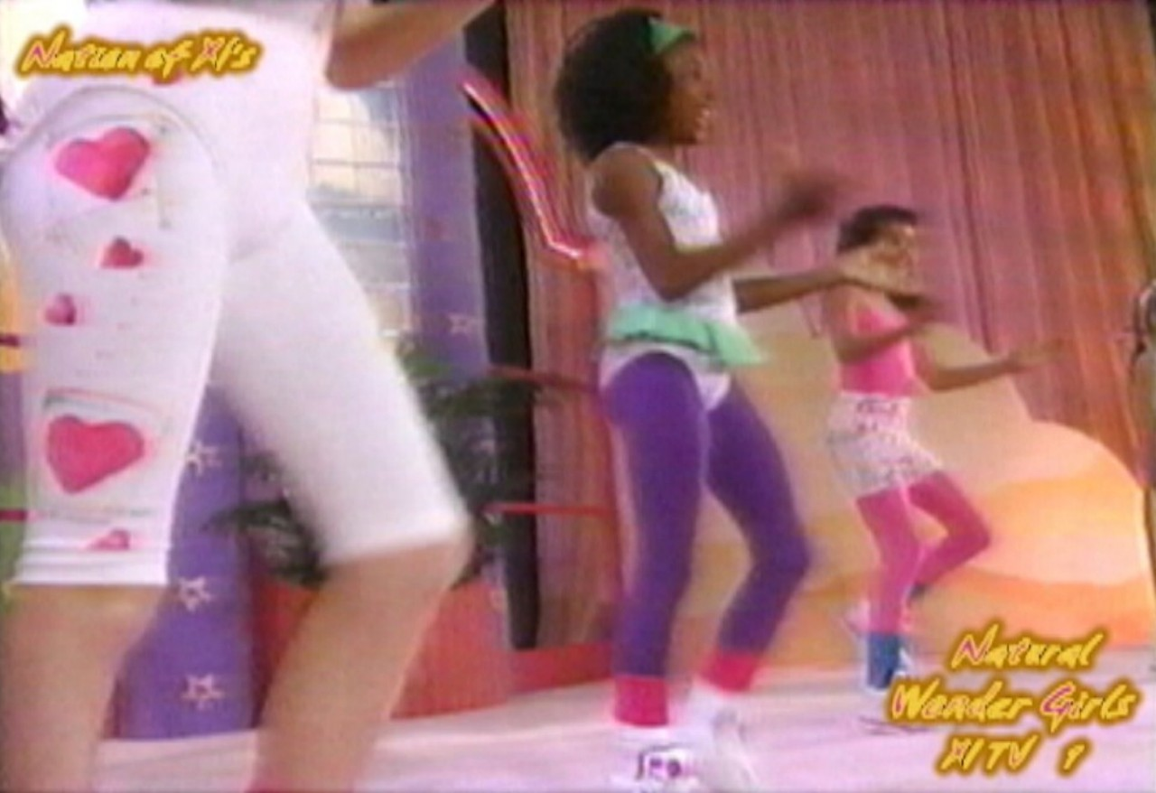 "Natural Wonder Girls! Dance Workout! ""Barbie Gets Nine Inch Nailed!"" - Arike Rice!"